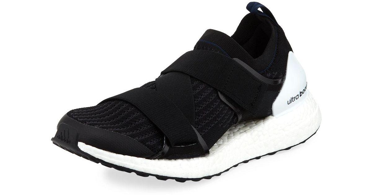 brand new 57418 3ac0f adidas By Stella McCartney Ultra Boost X Double-strap Sneaker in Black for  Men - Lyst