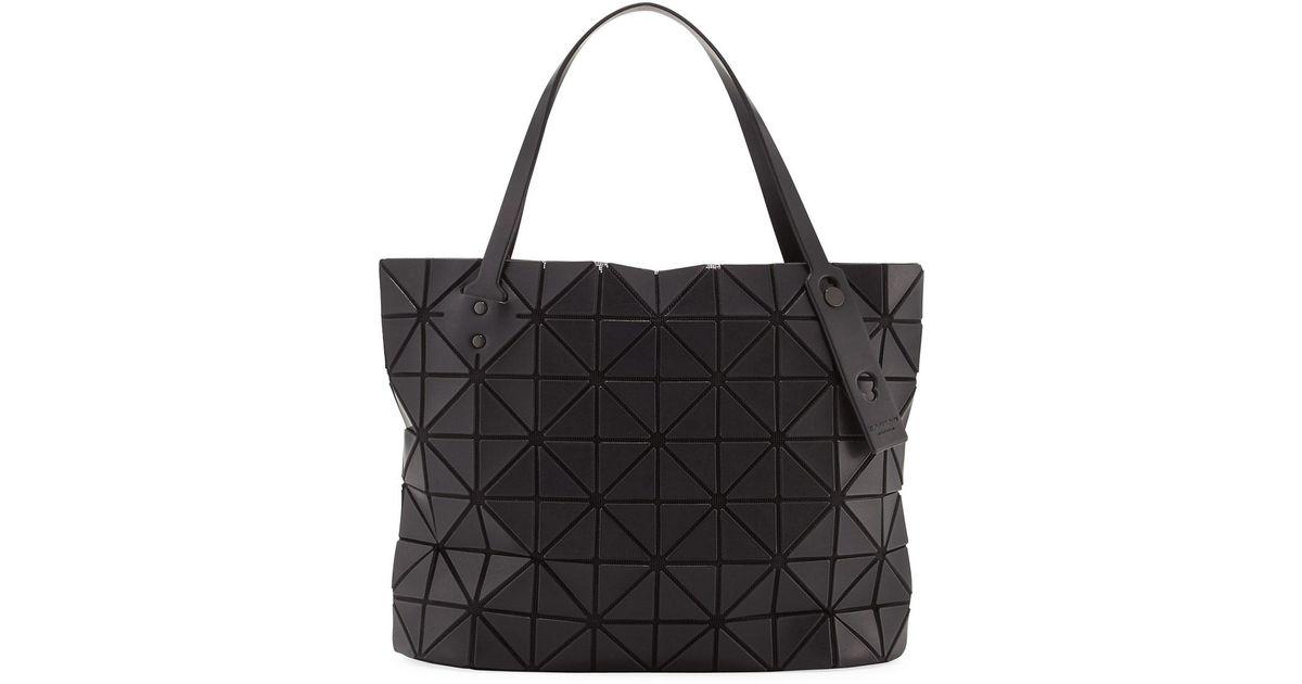 ade81780994 Lyst - Bao Bao Issey Miyake Rock Matte Shoulder Bag in Black