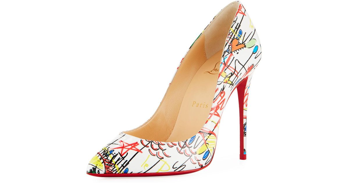 bfd5ca8dfad Christian Louboutin Pigalle Follies Loubitag Red Sole Pump - Lyst