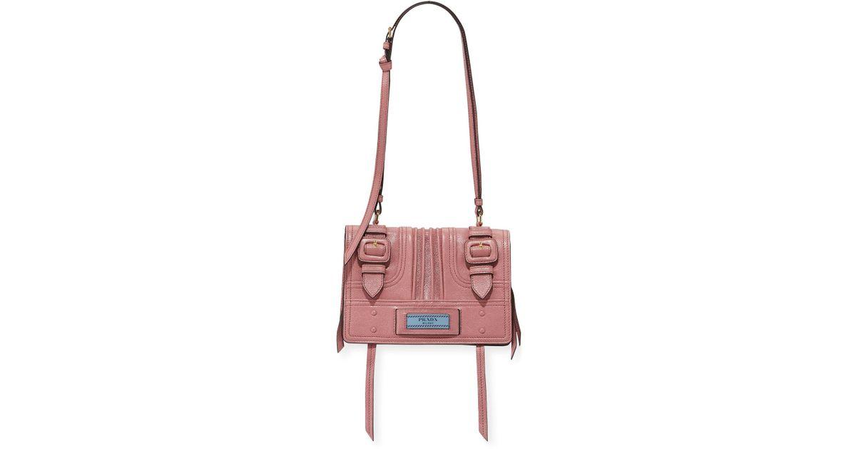 3662f02dbc Lyst - Prada Small Etiquette Patch in Pink
