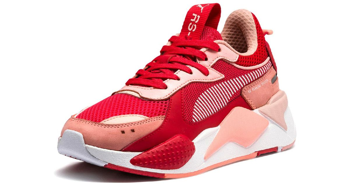 b17cae0e11c Lyst - PUMA Rs-x Colorblock Sneakers in Red