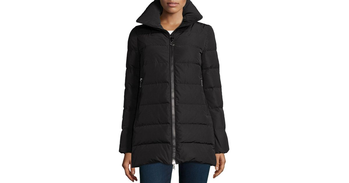 Moncler Petrea Quilted Puffer Coat in Black - Save 6.0319767441860535% - Lyst