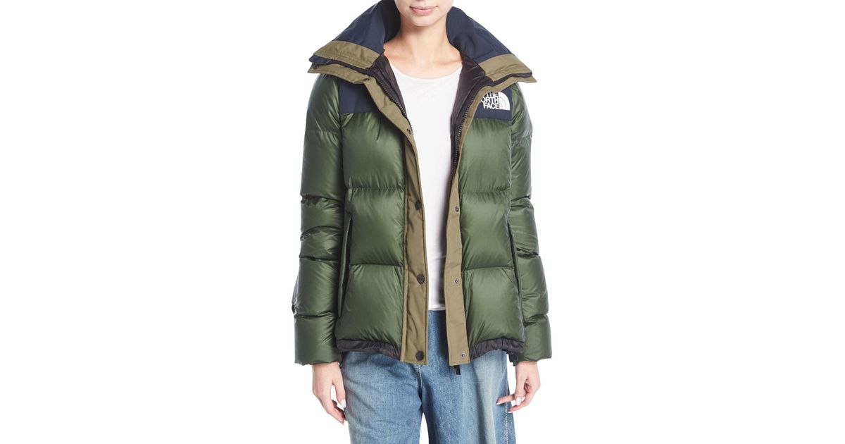 57bfbb51d97ac Lyst - Sacai The North Face    174 Puffer Coat