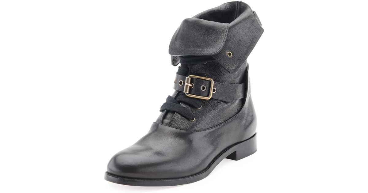 buy popular c69bd 6226a chloe-BLACK-Otto-Lace-up-Buckle-Ankle-Boot.jpeg