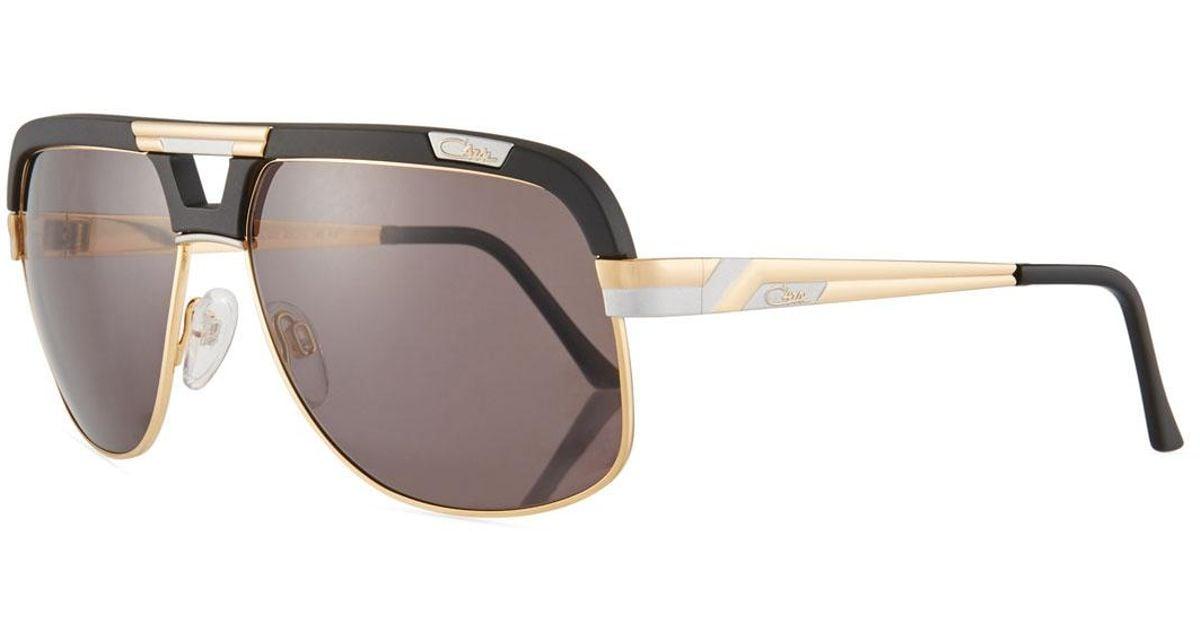 1b281143cf92 Lyst - Cazal Men s Acetate metal Aviator Sunglasses for Men