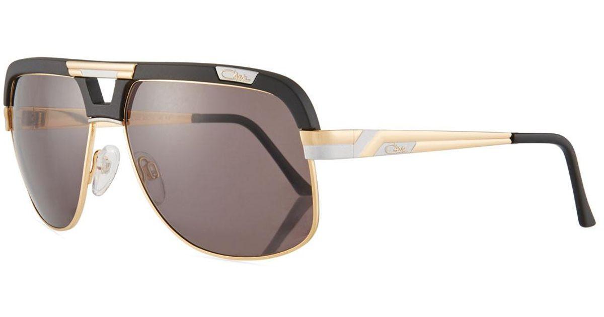 d247570c5b6 Lyst - Cazal Men s Acetate metal Aviator Sunglasses for Men
