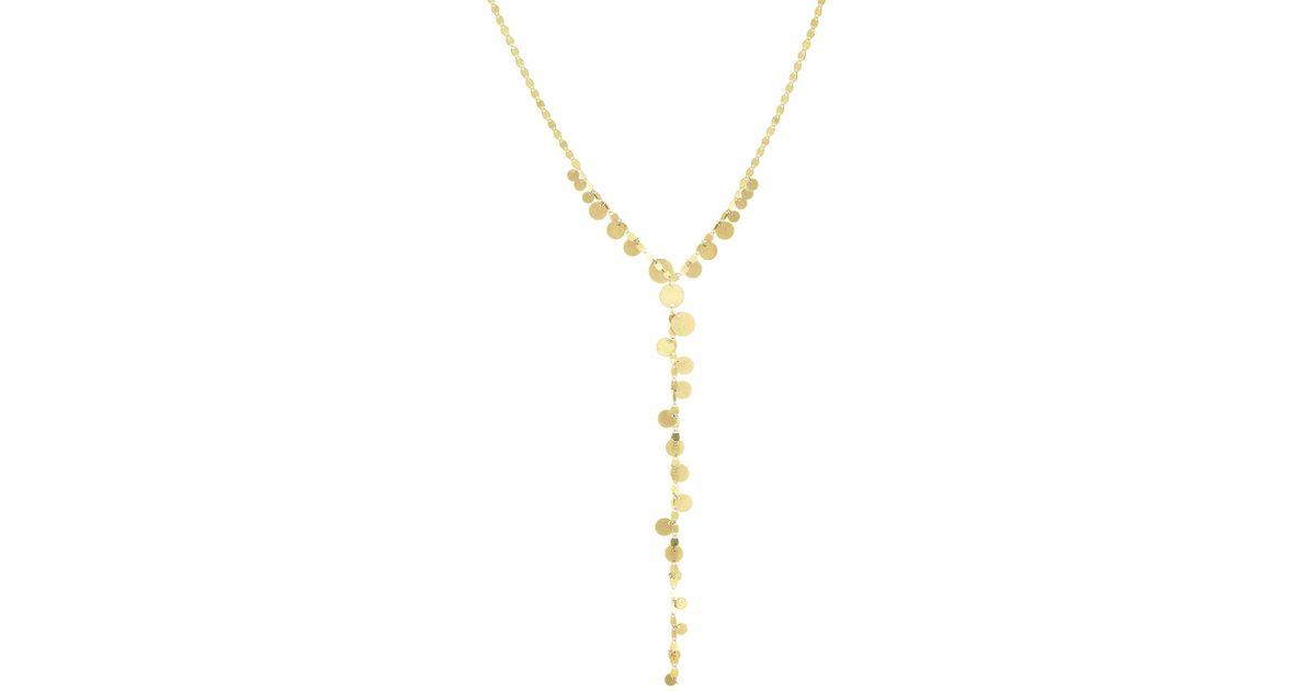 Lana Jewelry Mini Diamond Rectangle Lariat Necklace c7RGj0CUA