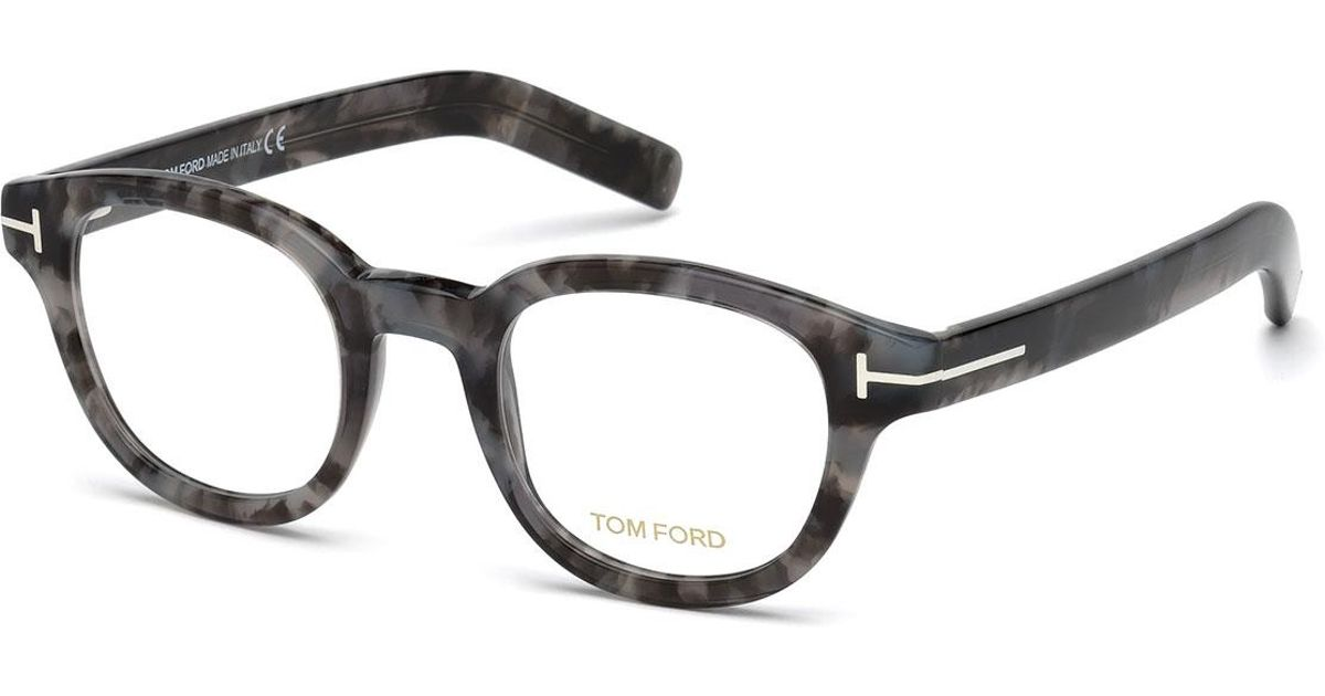 b8f7c8e8c50f0 Lyst - Tom Ford Chunky Square Optical Frames