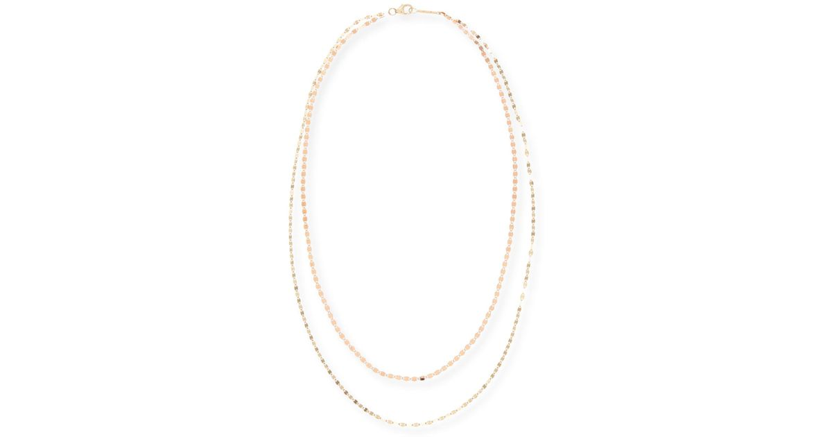Lana Jewelry Duo Two-Tone Layering Necklace Nnv2URrd