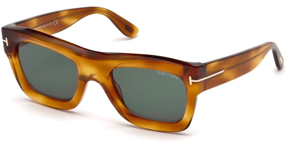 015f88adb73e Lyst - Tom Ford Wagner Thick Square Sunglasses
