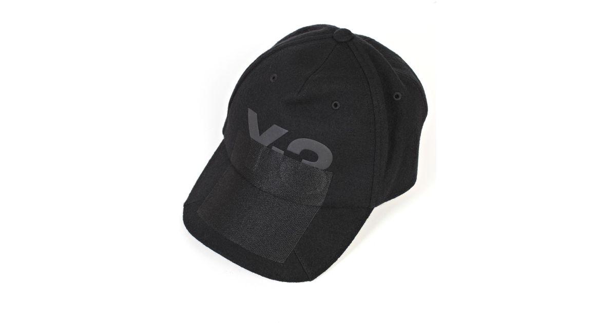 Lyst - Y-3 Cappello Y-3 Xray Logo in Black for Men c24abd3e4bf8