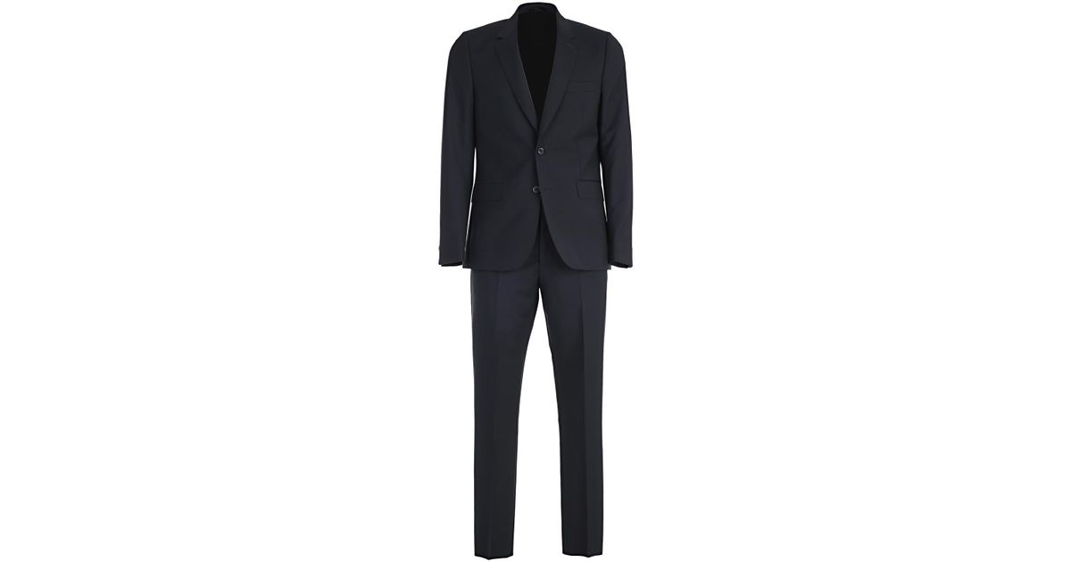 3e7d3a033d Lyst - Paul Smith Abito in Blue for Men