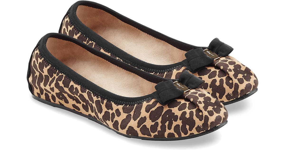 Image 1 Of Leopard Print Flat Sandals From Zara
