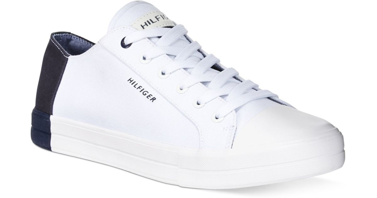 5ceaa08e8d50c Lyst - Tommy Hilfiger Fonzie Sneakers in White for Men