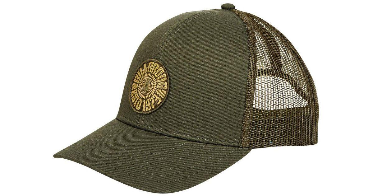 621de16152bfc Lyst - Billabong Walled Trucker Hat in Green for Men