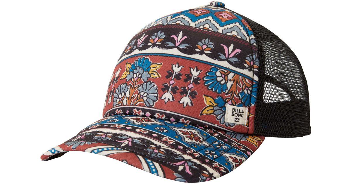 3713cec1052eb Lyst - Billabong Heritage Mashup Trucker Hat