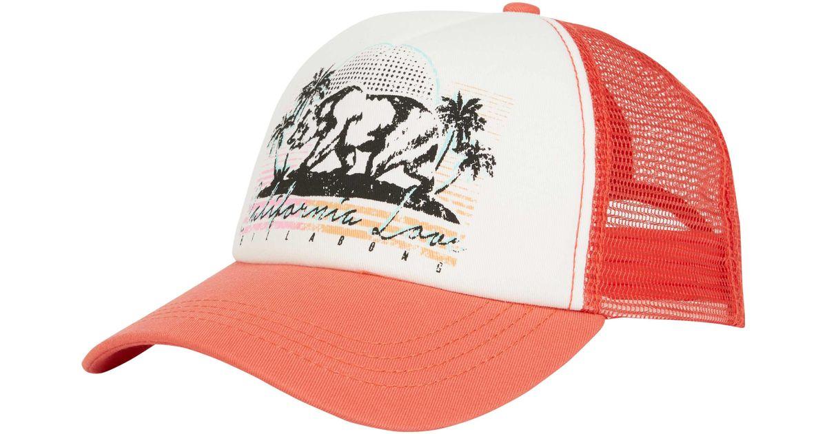 buy online ec911 ef6a7 ... wholesale lyst billabong retro bear trucker hat f22f6 6cfbd