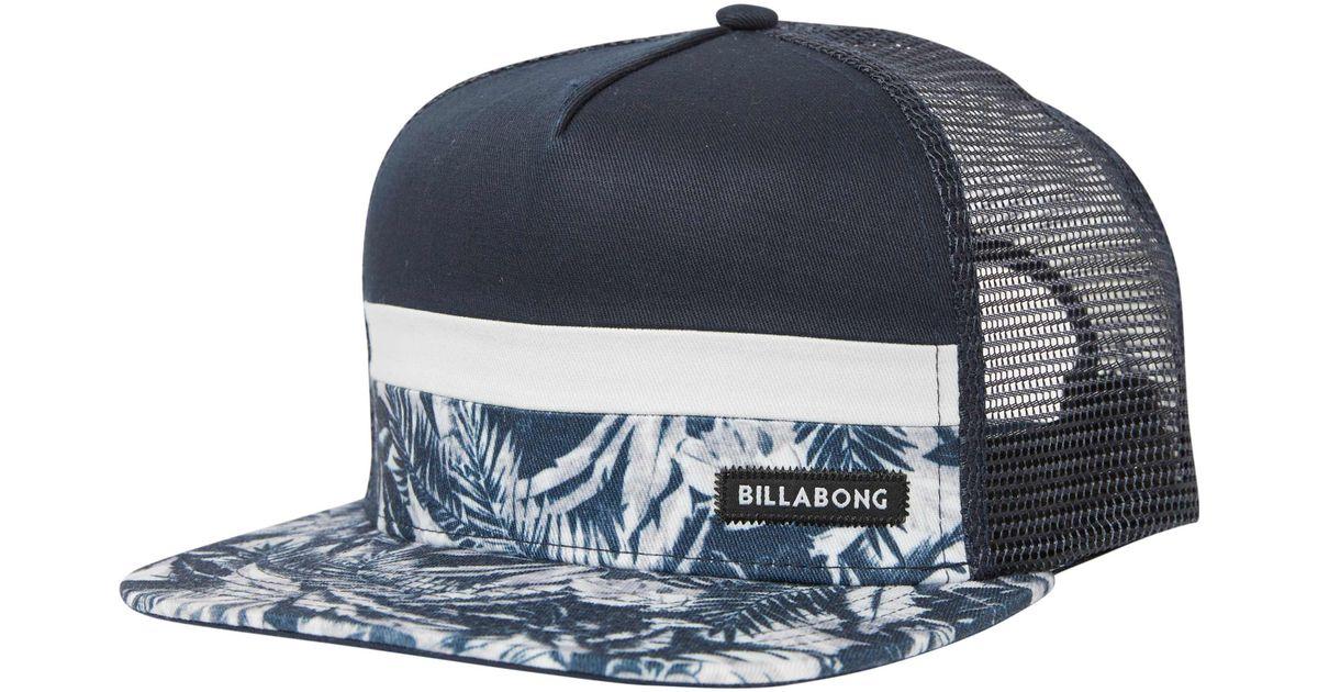 c3c0ae2e800 ... official store lyst billabong tribong trucker hat in blue for men 22ff3  1396a