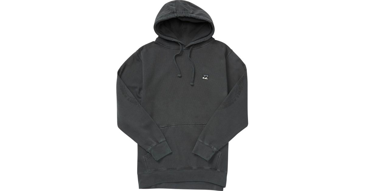 3d25573d6d5a Billabong Wave Washed Rio Pullover Hoodie in Black for Men - Lyst