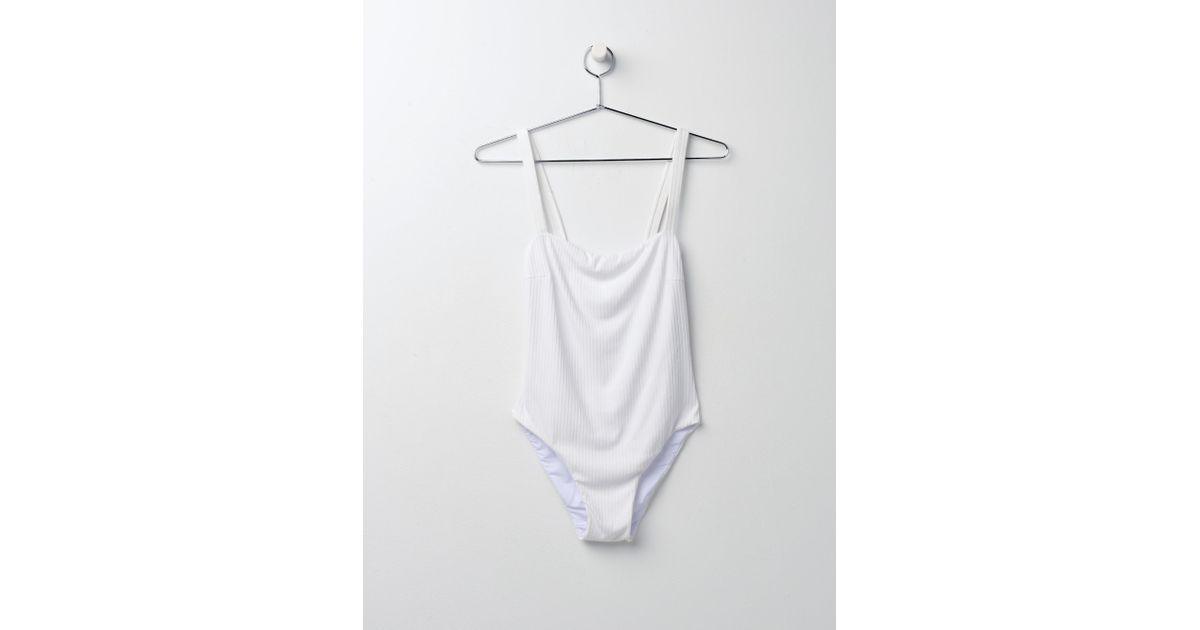 ce34ac8d9b4 Faithfull The Brand Phoebe One Piece_wht in White - Lyst