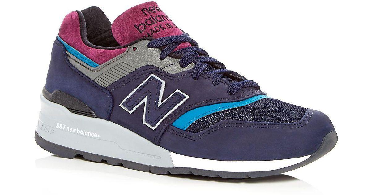 new balance 997 laces