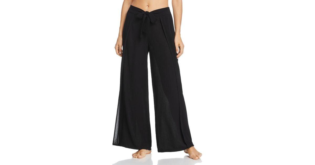 c4b25a7c337f9 Becca Modern Muse Swim Cover-up Pants in Black - Lyst