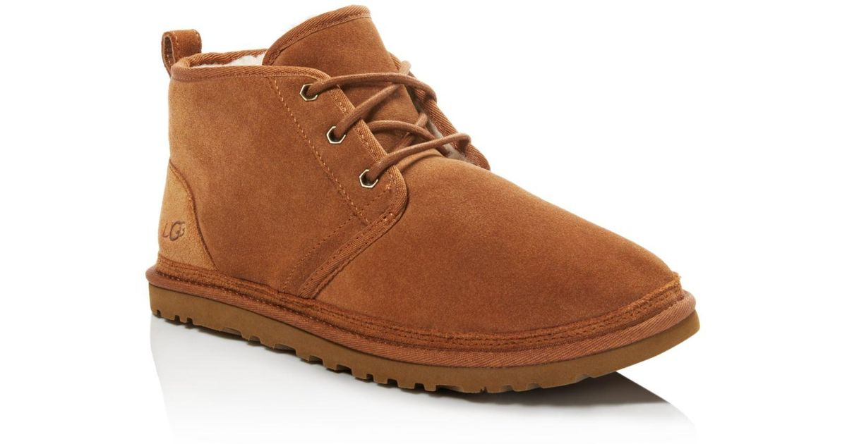 Ugg Neumel Suede Chukka Boots In Brown For Men Lyst