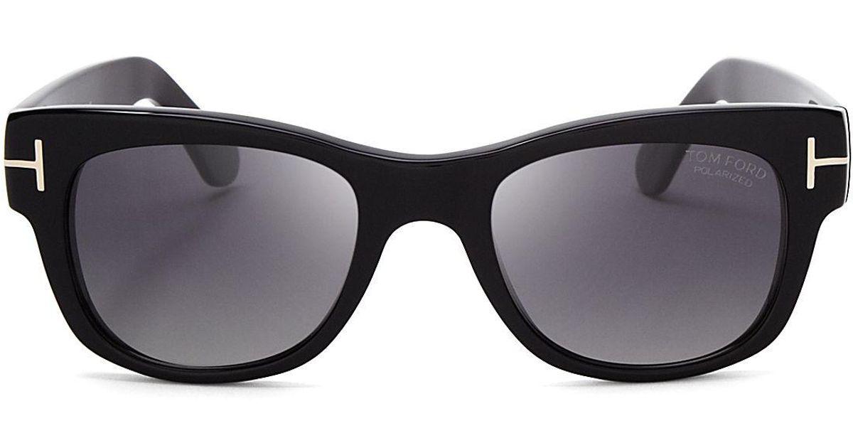 4fe592855f8 Lyst - Tom Ford Cary Polarized Wayfarer Sunglasses