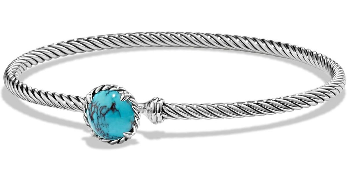 david yurman ch telaine bracelet with turquoise in