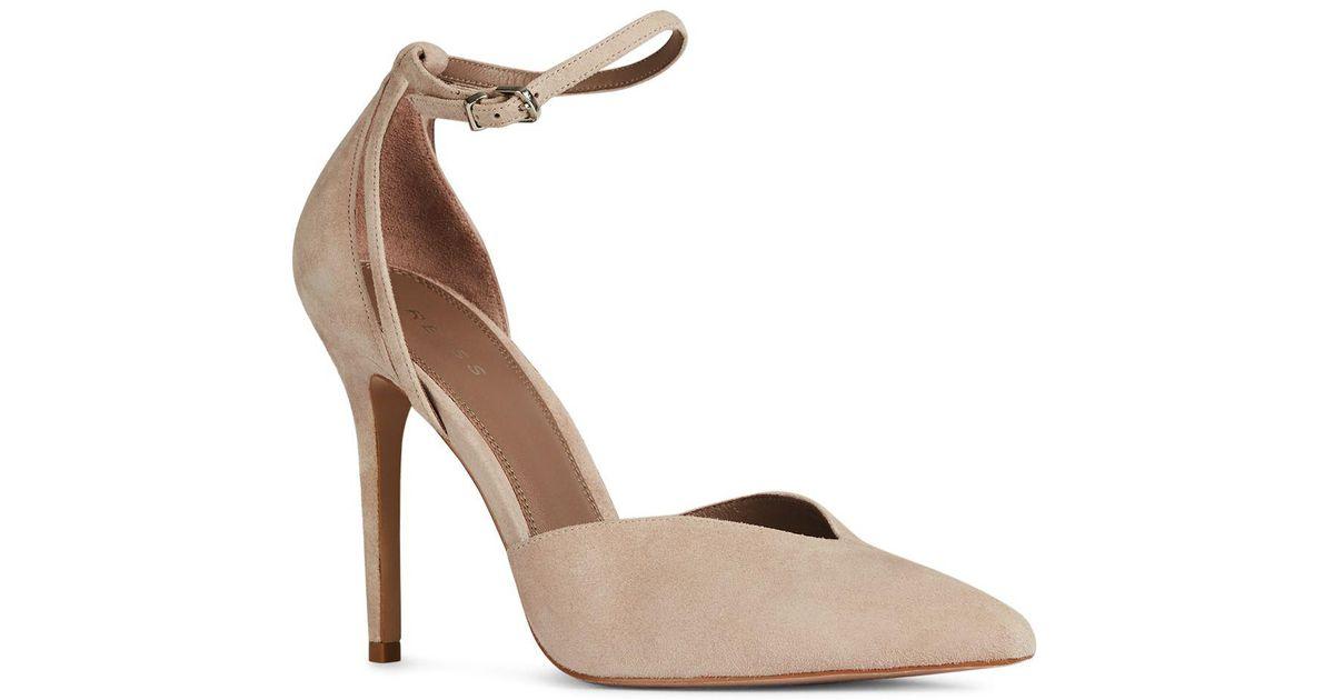 Reiss Women's Katya Pointed Toe Suede Pumps g0xYPMdX3