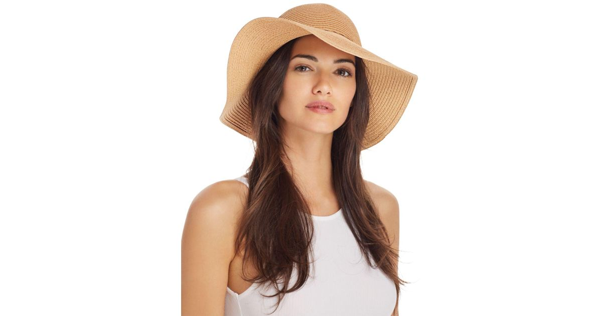 f1b8bf4cd38 Lyst - August Hat Company Floppy Sun Hat in Natural