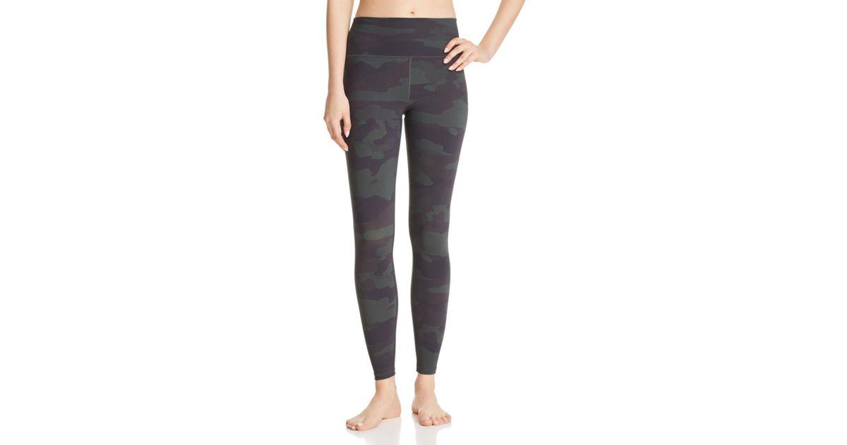 dd22d380e9e8e Alo Yoga Vapor High-waist Camo Leggings in Gray - Lyst