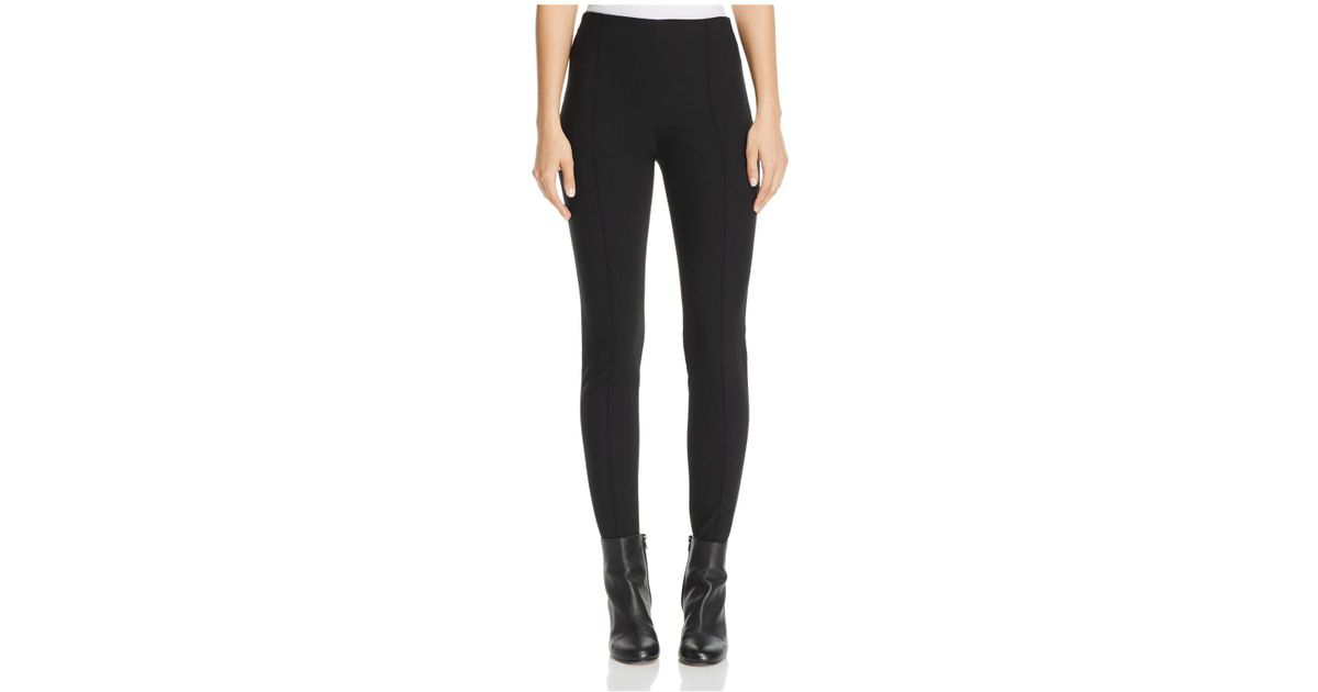 8f8296e7f6d75 Vince Skinny Stirrup Pants in Black - Lyst
