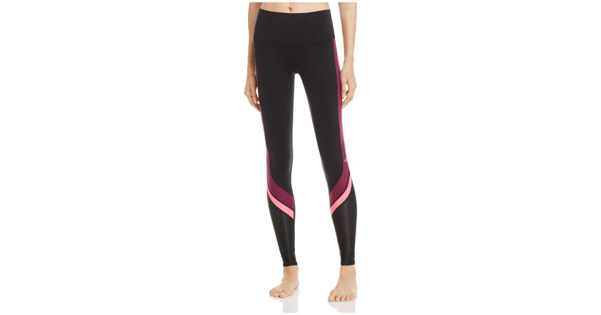 0f30e19d47f23c Lyst - Alo Yoga Elevate Leggings in Black