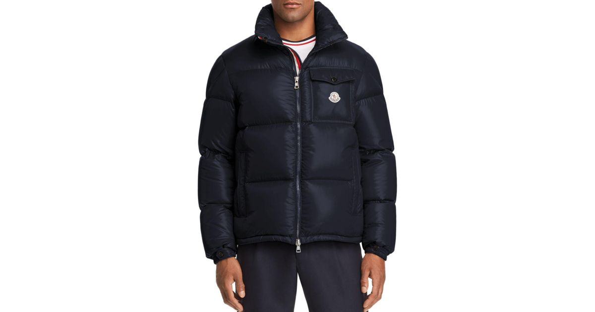 3e1b937aa Lyst - Moncler Montbeliard Down Jacket in Blue for Men
