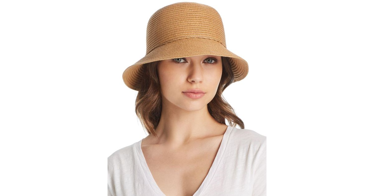 83ebf0dd53a5f August Hat Company Forever Classic Cloche in Natural - Lyst