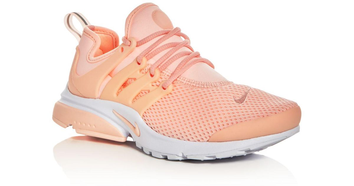 lowest price 6b05b ba9d0 Nike - Pink Women's Air Presto Lace Up Sneakers - Lyst