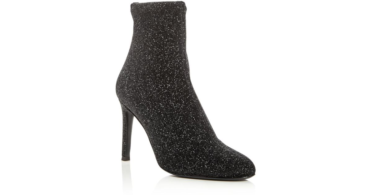 Giuseppe Zanotti Bimba Glitter High-Heel Booties Cheap Prices Outlet Cheap Price Outlet Low Price Deals Cheap Price YnCUDR2