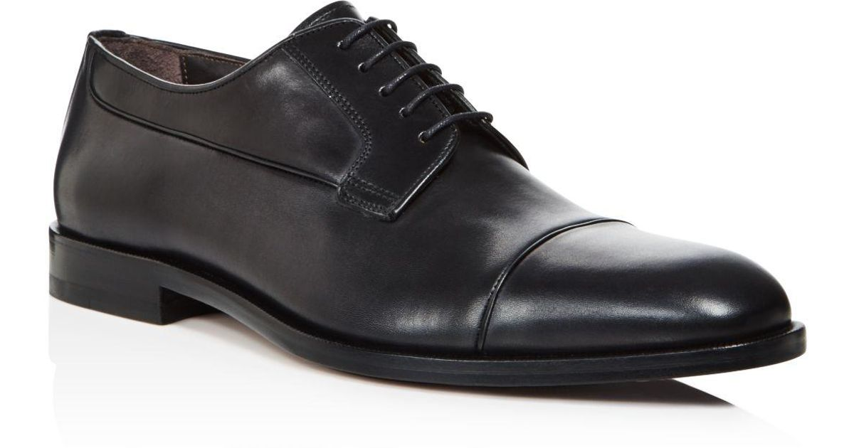 CANALIStock Cap Toe Derby Shoes
