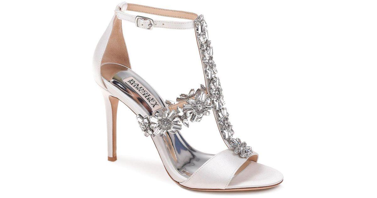Badgley Mischka Munroe Embellished Stiletto Heel Sandal gMSgJNBInn