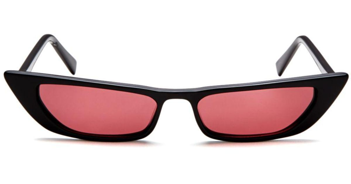 21506396cae Kendall + Kylie Kendall And Kylie Women s Vivian Extreme Cat Eye Sunglasses