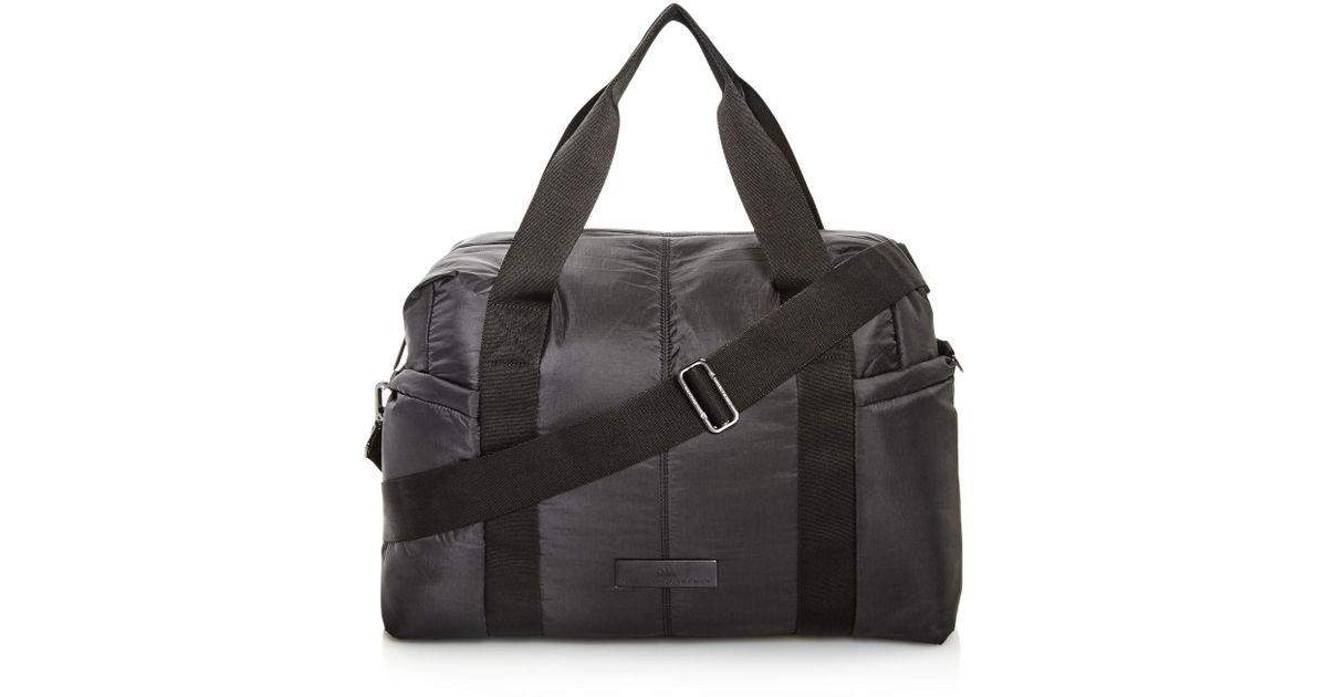 b2e528f396e9 Lyst - Adidas By Stella Mccartney Shipshape Gym Bag in Black