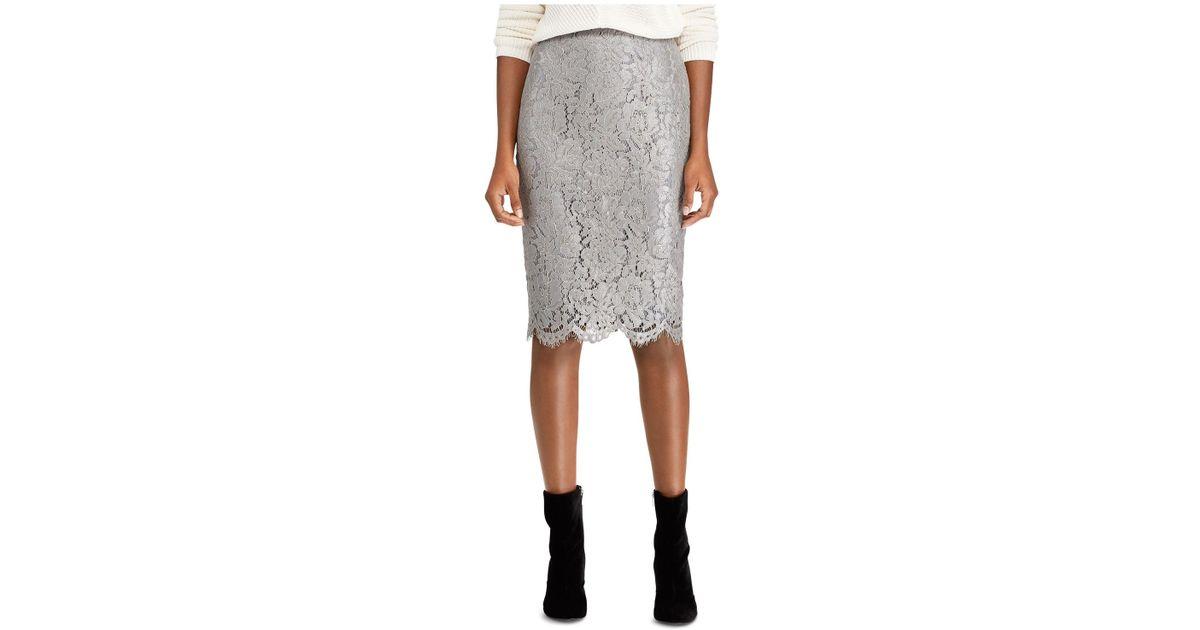 147a636b0c Silver Metallic Pencil Skirt - Best Photos Skirt and Bag ...