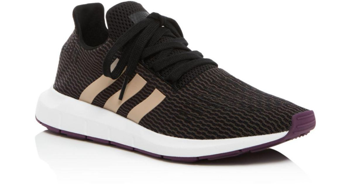 8621562a0 Lyst - adidas Swift Run Core Black   Ash Pearl Womens Shoes in Black - Save  42%