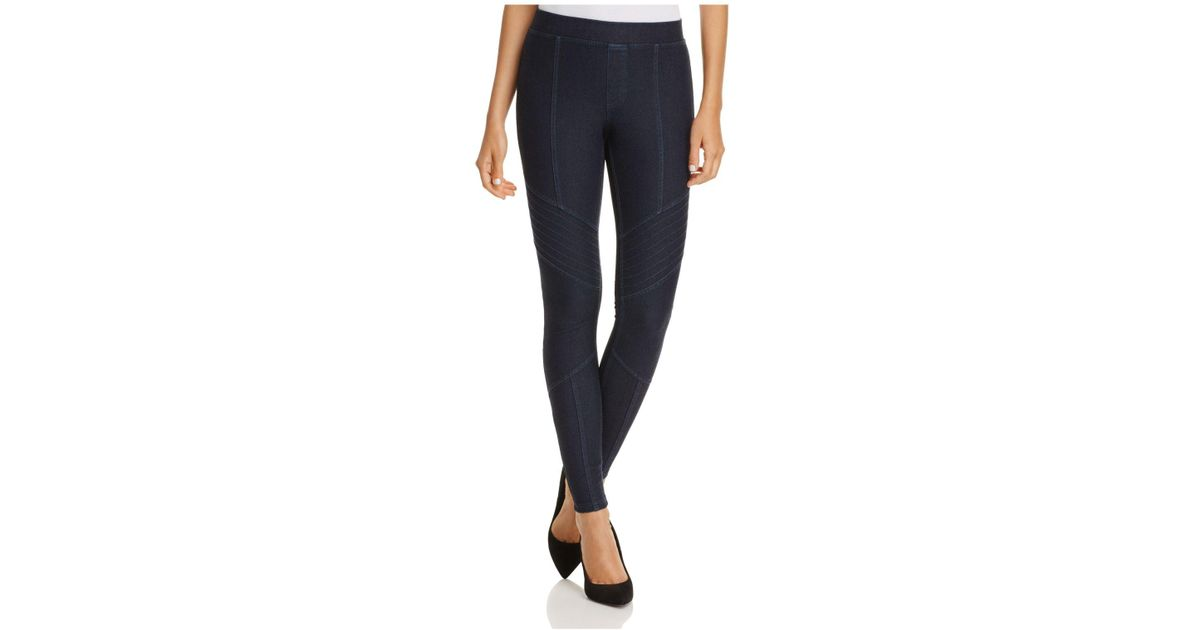 Hue jean leggings with pockets