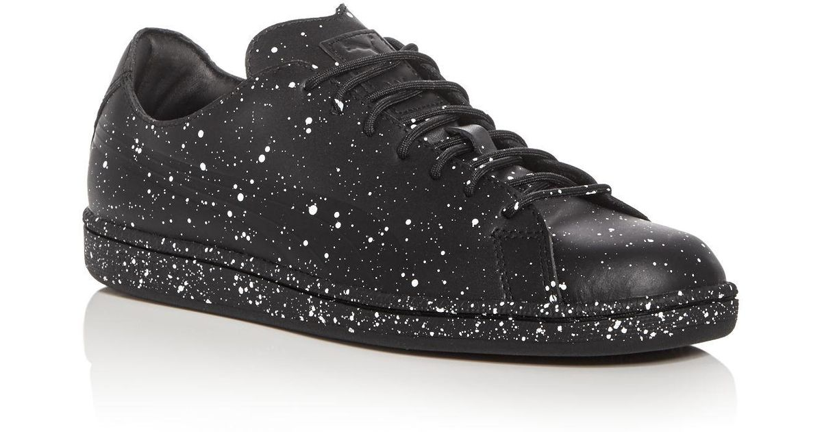 ddf9267b8f67e8 Lyst - PUMA X Daily Paper Men s Match Splatter Lace Up Sneakers in Black  for Men