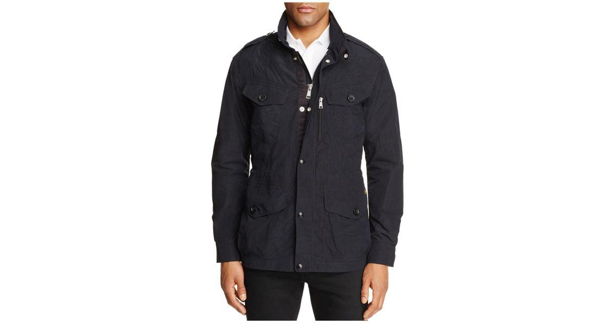 f387a4e3952d Lyst - Polo Ralph Lauren Lightweight Battle Jacket in Black for Men