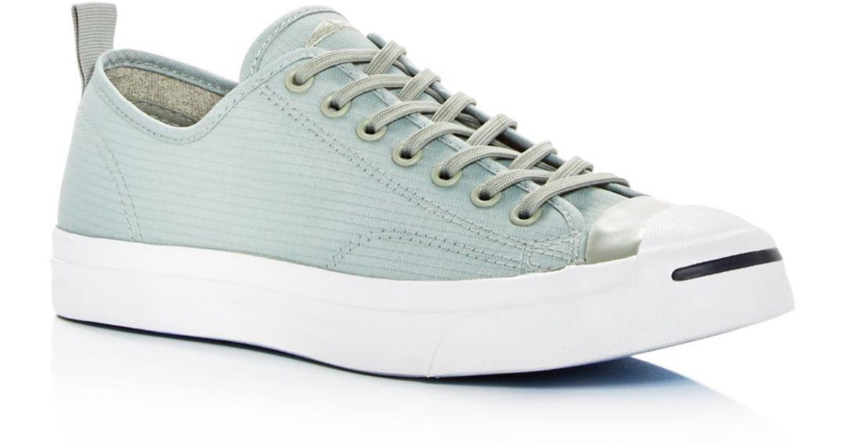 Converse Men s Jack Purcell Surplus Lace Up Sneakers for Men - Lyst bd9dd9c96