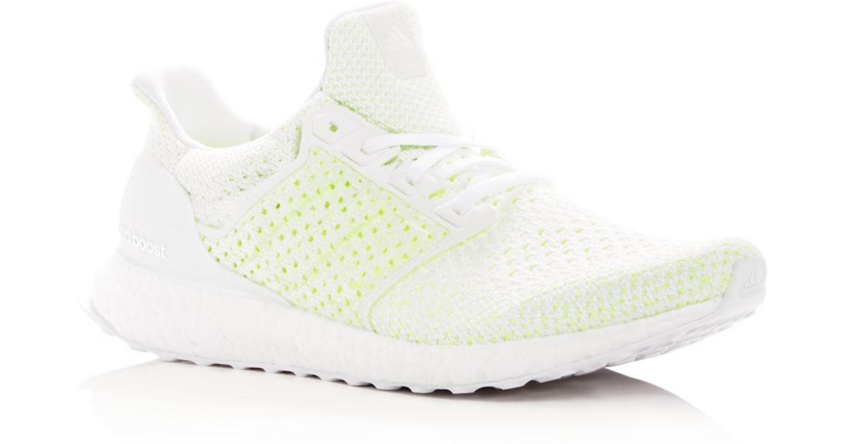 ea135dc3cb00 adidas Men s Ultraboost Clima Knit Lace Up Sneakers in White for Men - Lyst