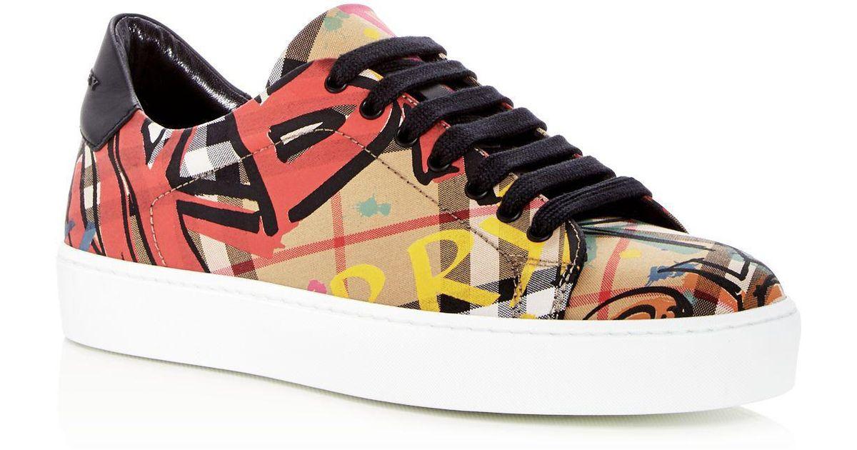 graffiti sneakers Burberry 8uQr7ADdPL